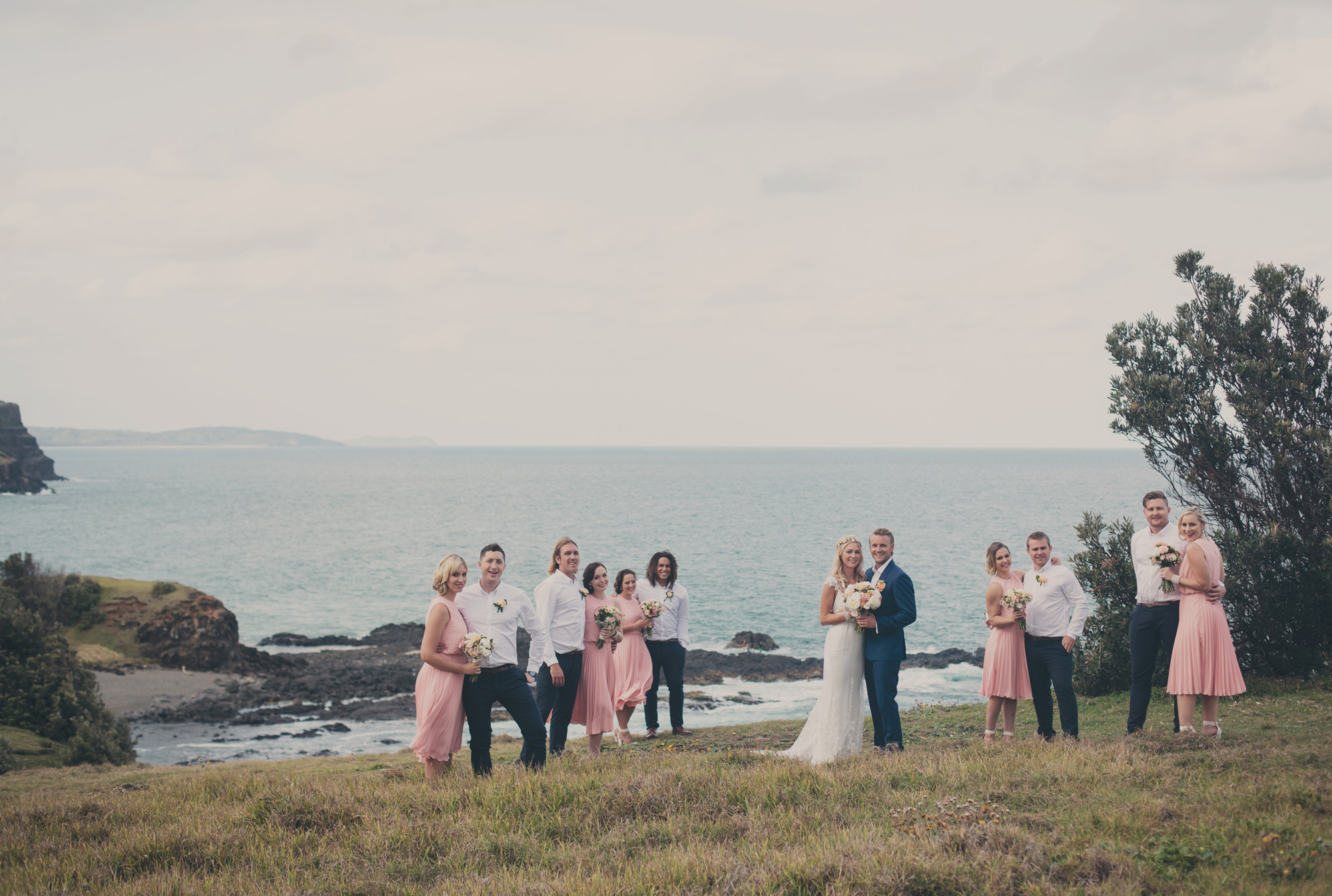 Bridal Party- Ballina wedding photography Skennards Head