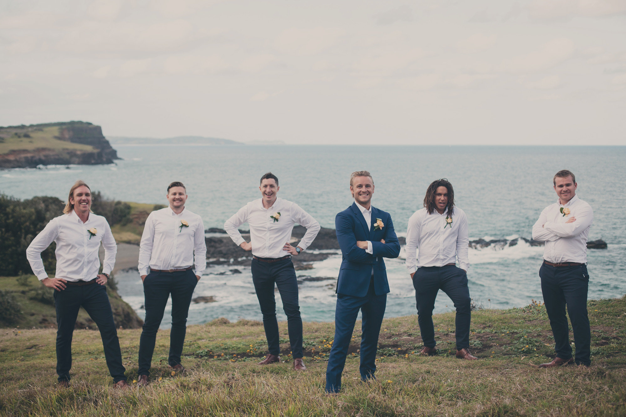 The Boys - Ballina wedding photography, skennards head, boulders beach