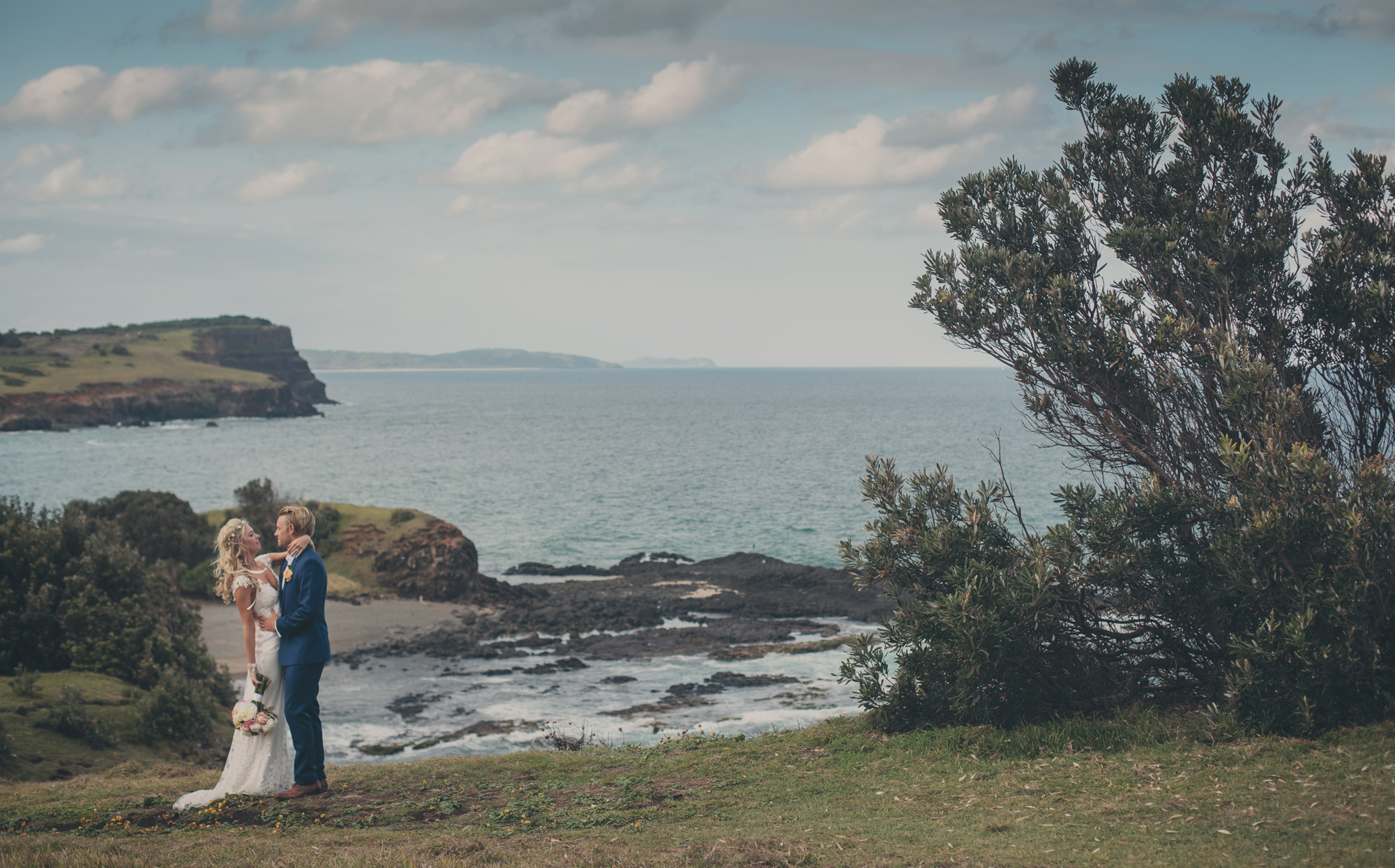 The Couple - Ballina wedding photography, skennards head, boulders beach