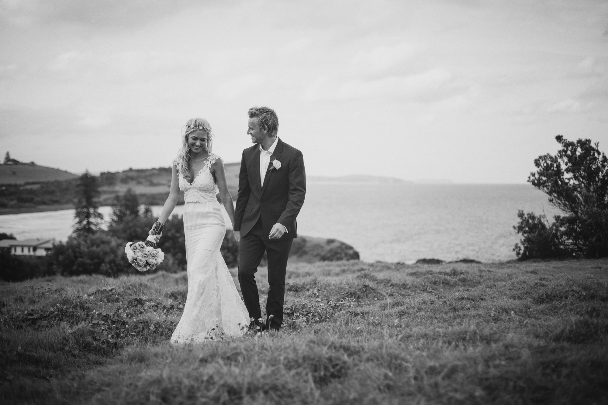 The lovers - Ballina wedding photography, skennards head, boulders beach