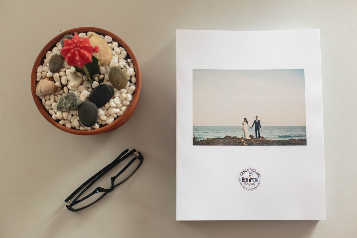 print edition of byron bay wedding photogrpaher Ben Wyeth Photogrpahy Magazine Volume 1